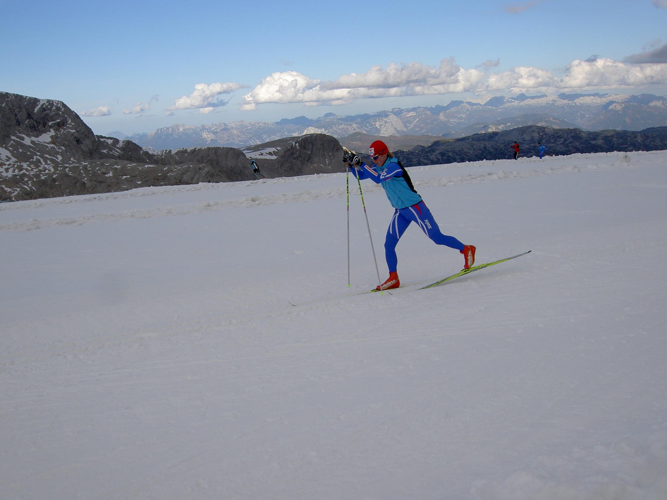 Klára Moravcová lyže