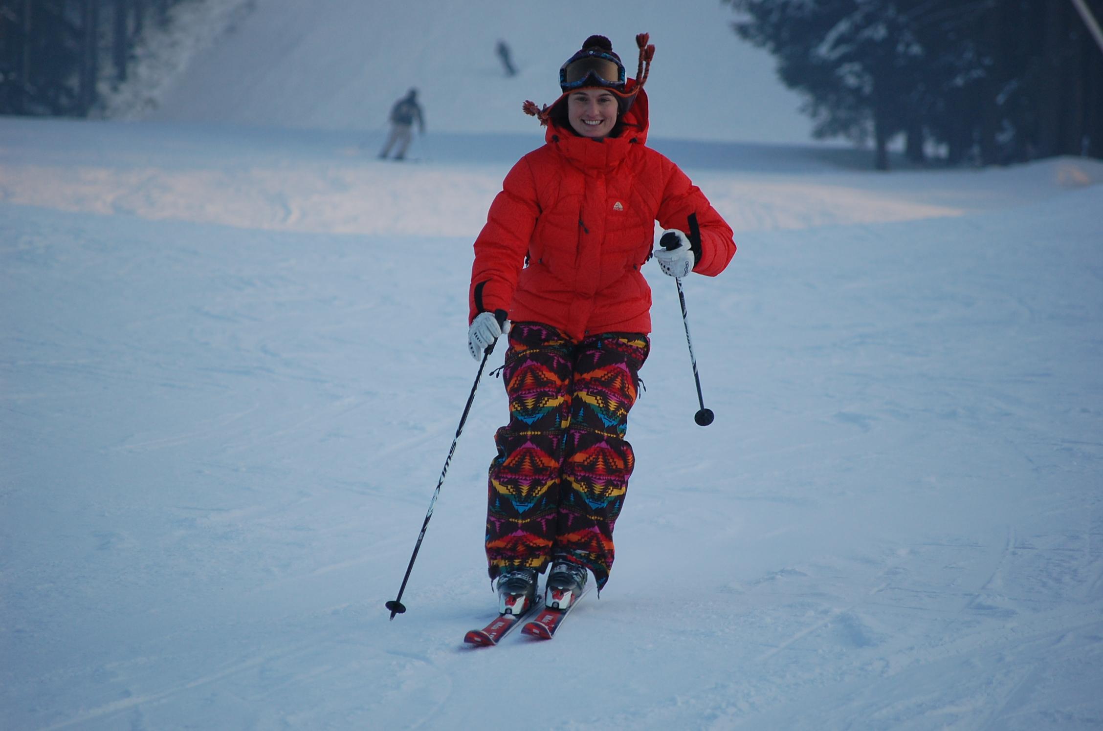 Nikola Sudová po zranění poprvé na lyžích