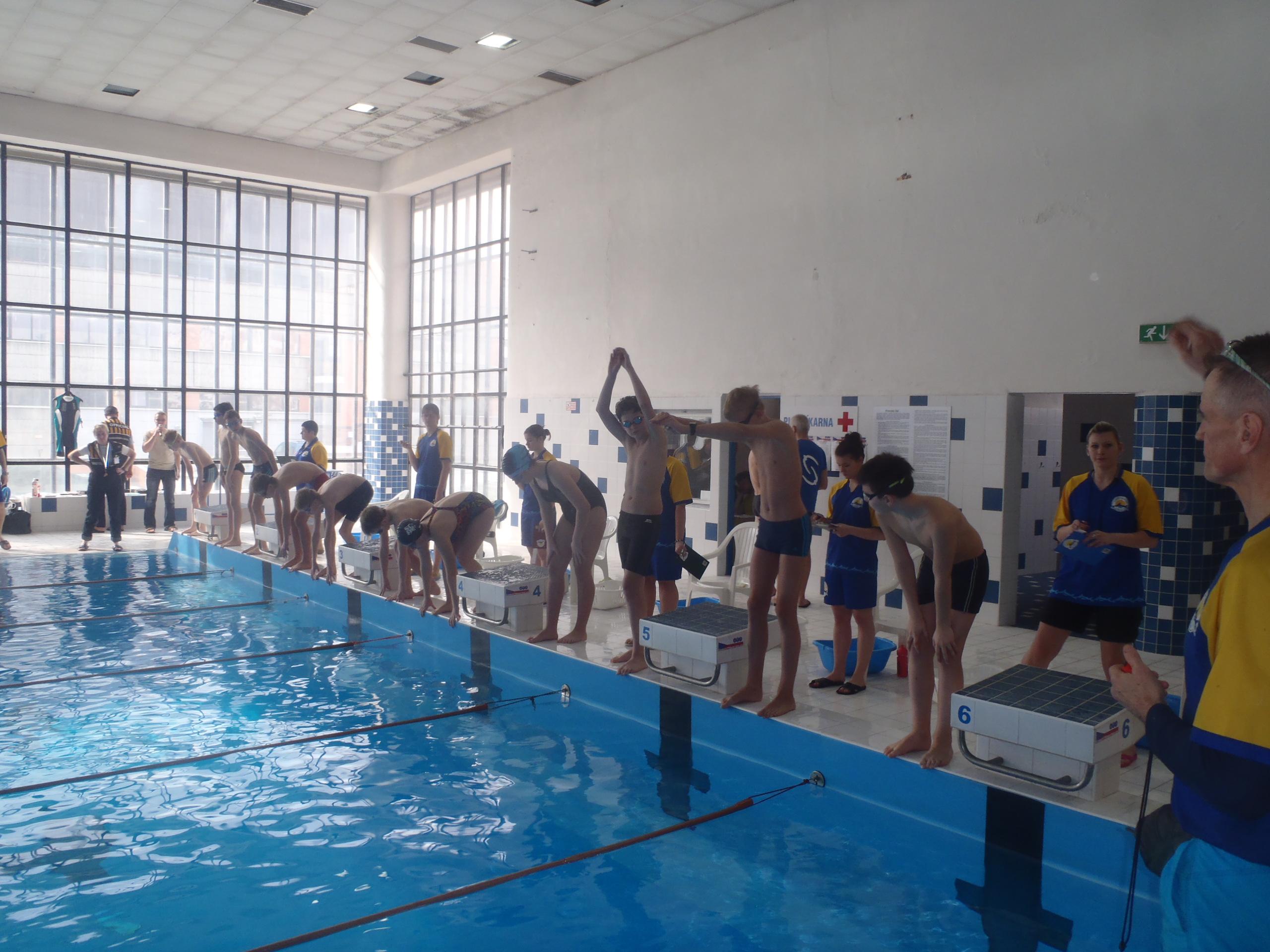 Start plavání
