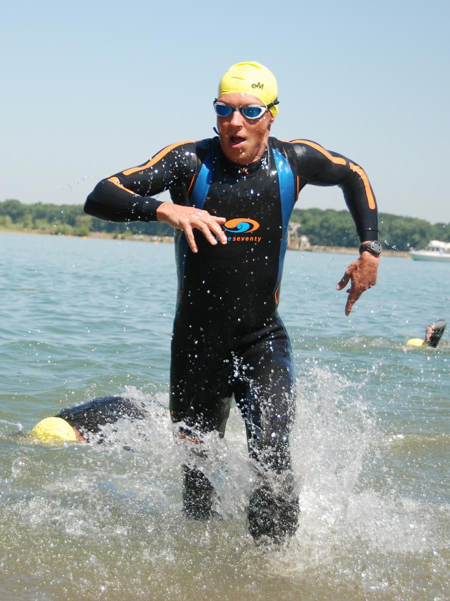 Triatlon plavání