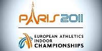 ME v atletice v hale 2011 Paříž logo