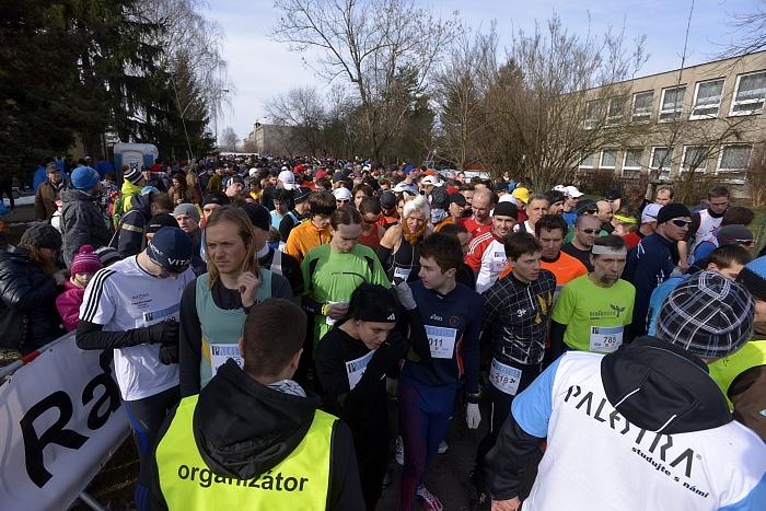 Před startem běhu