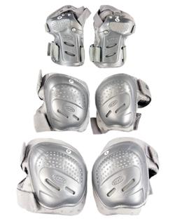 Inline chrániče Tempish CoolMax Silver