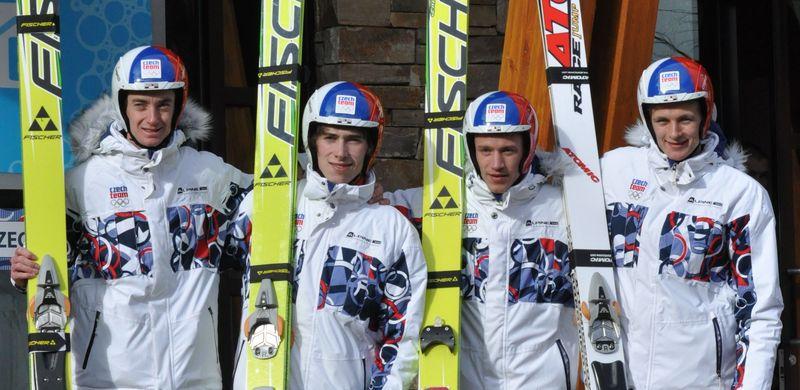 Čeští skokané na lyžích