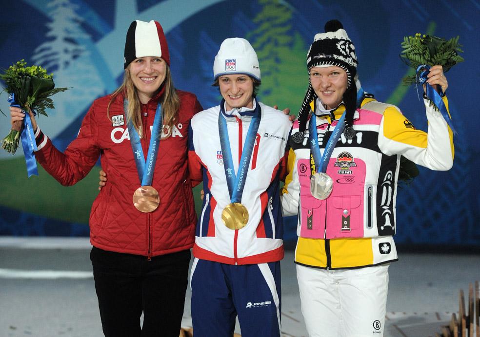 Martina Sáblíková zlatá medaile