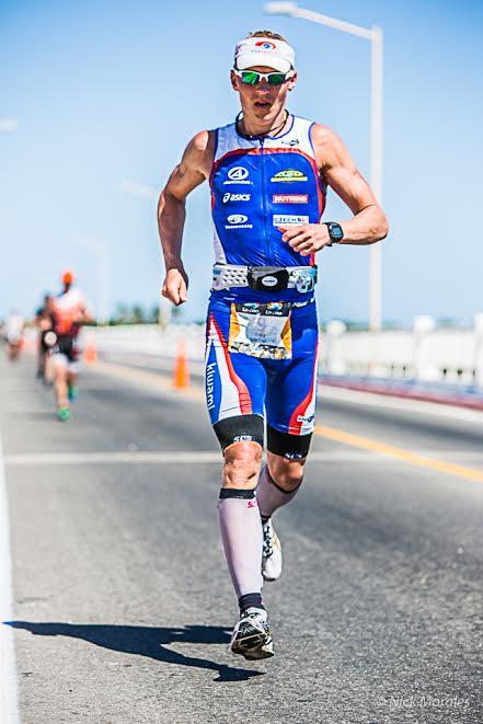 Petr Vabroušek při běhu