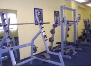 Fitness Blue House
