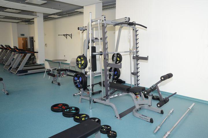 Fitness centrum v Městských lázních