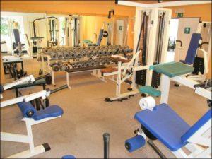 Fitness centrum ve Sportovní hale