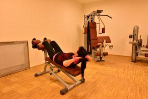Fitness studio v hotelu Antonie