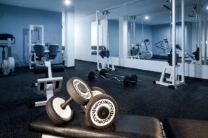 Fitness v hotelu Štekl