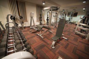 Fitness v hotelu Diamant
