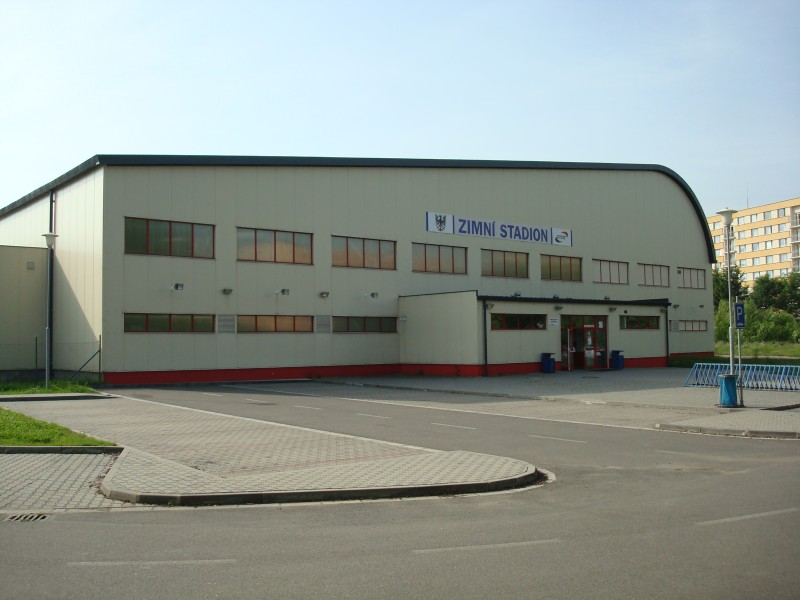 zimní stadion v Chrudimi