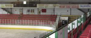 zimní stadion v Příbrami