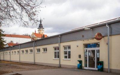 Zimní stadion v Moravských Budějovicích