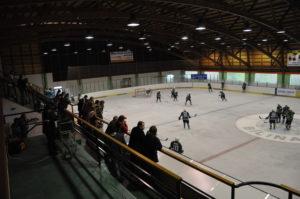 zimní staadion v Bílině