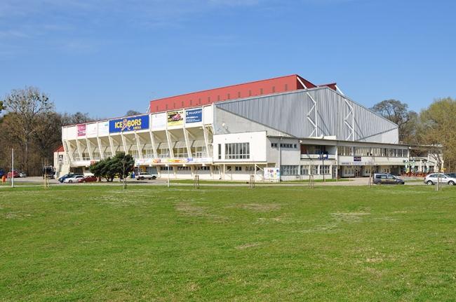 zimní stadion v Břeclavi