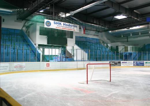 zimní stadion v Hodoníně