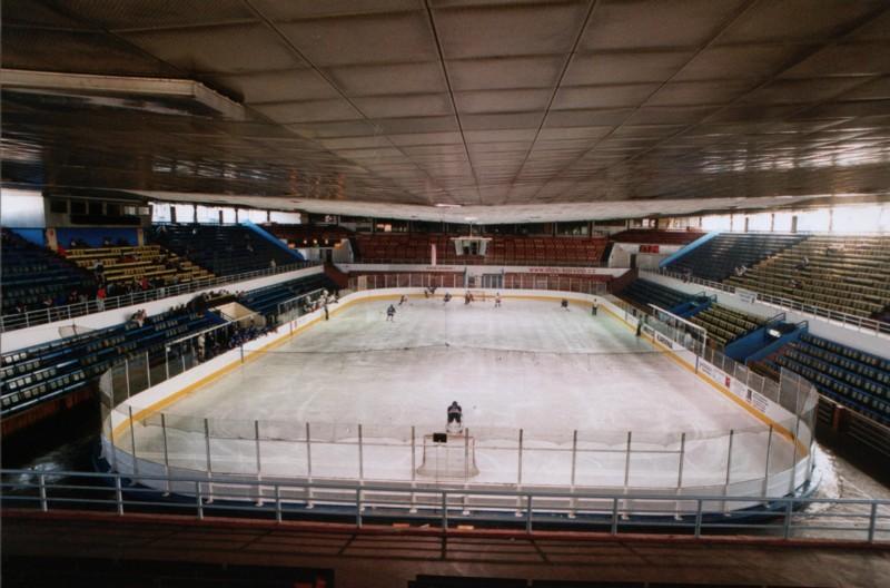 zimní stadion v Karviné