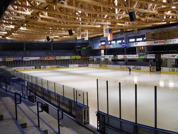 zimní stadion ve Vrchlabí