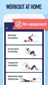 Cvičení břicha