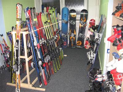 Půjčovna lyží Prostějov