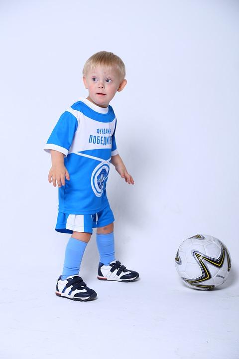 Malý fotbalista.
