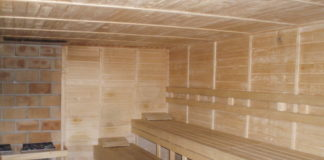 Sauna Písek