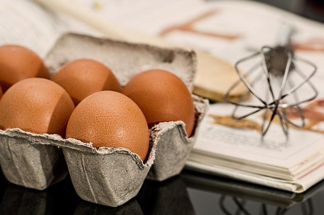Velikosti vajec
