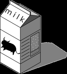 Krabice od mléka