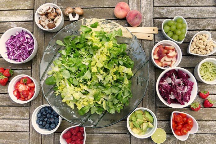 Potraviny na stole