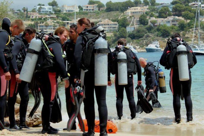Potápění v zahraničí