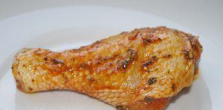 Pečená kuřecí stehna v troubě