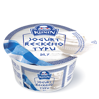 Bílý jogurt Řeckého typu
