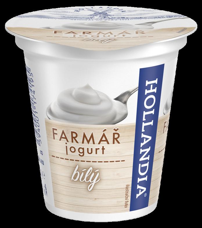 Bílý krémový jogurt Farmářek