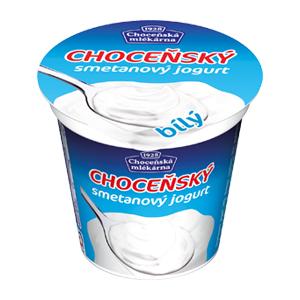 Bílý smetanový jogurt 150 g