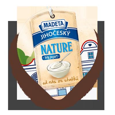 Jihočeský Nature bílý jogurt min. 3% 150 g