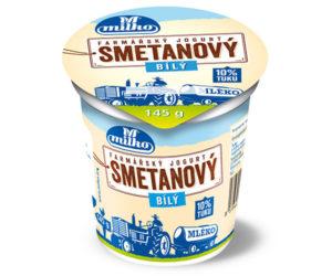 Smetanový farmářský jogurt bílý