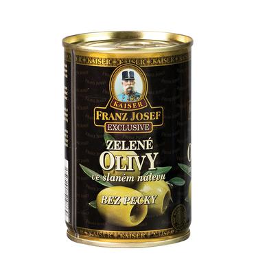 Zelené olivy bez pecky 300g