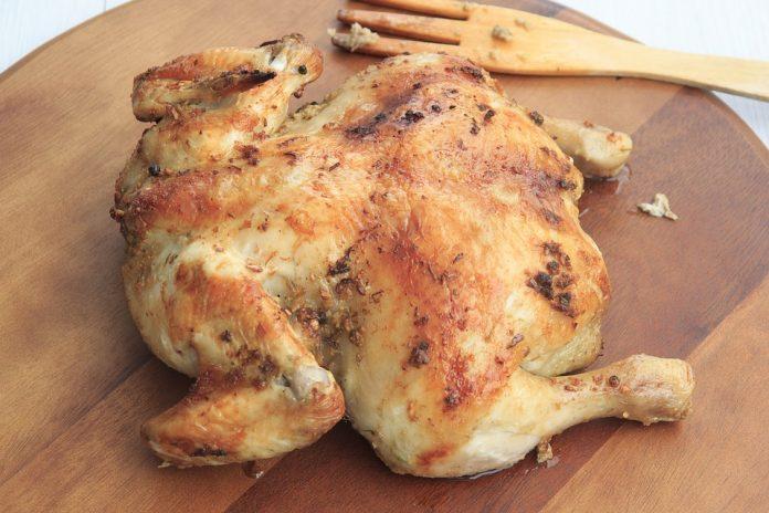Co se zbytky pečeného kuřete