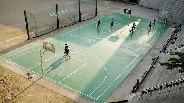 Rozměry basketbalového hřiště