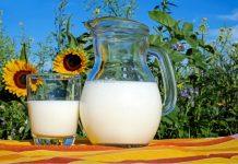 Džbán mléka