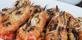 Grilované krevety