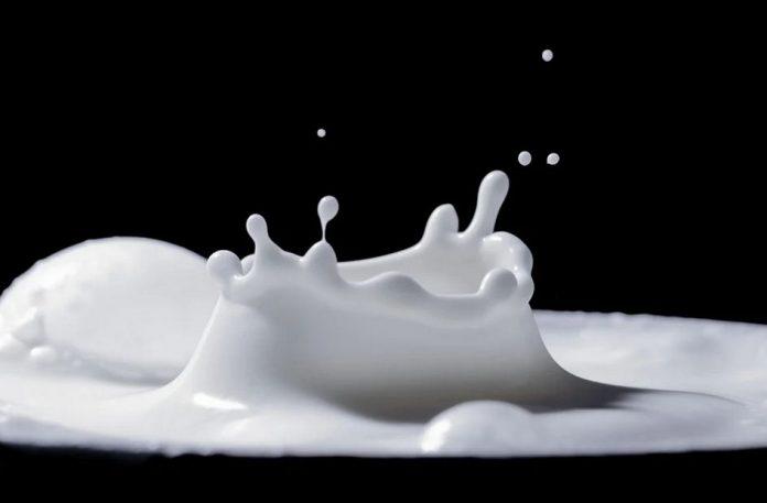 Stříkající mléko