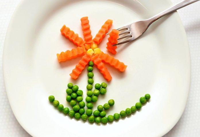 Hrášek na talíři