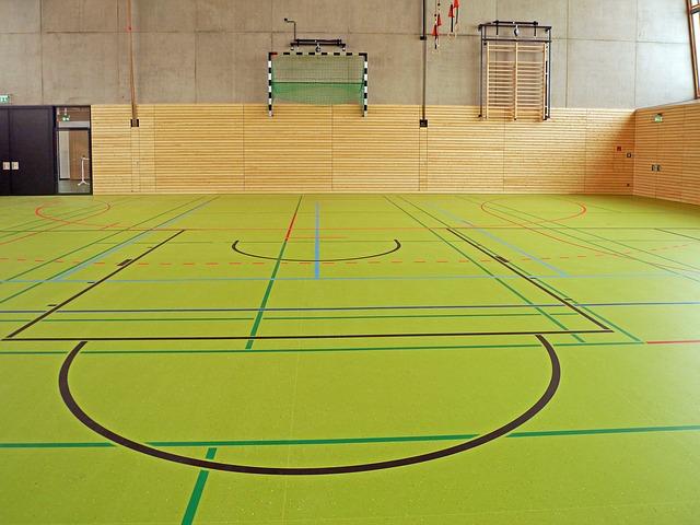 sportovní podlaha
