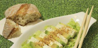 Tofu s avokádem