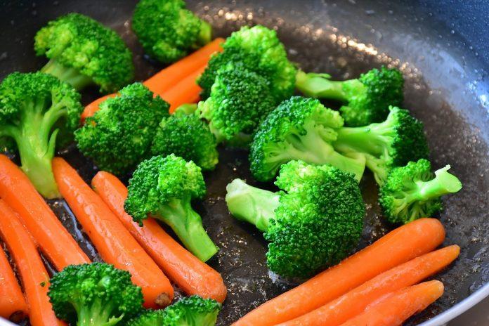 Smažení zeleniny