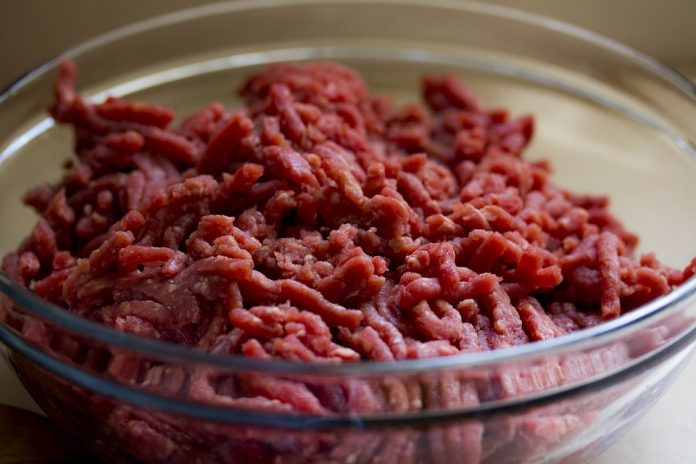 Mleté hovězí maso