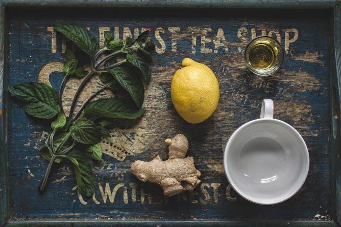 Zázvor na čaj